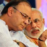 PM Modi with FM Jaitley