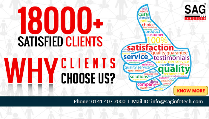 18000+ Satisfied Clients