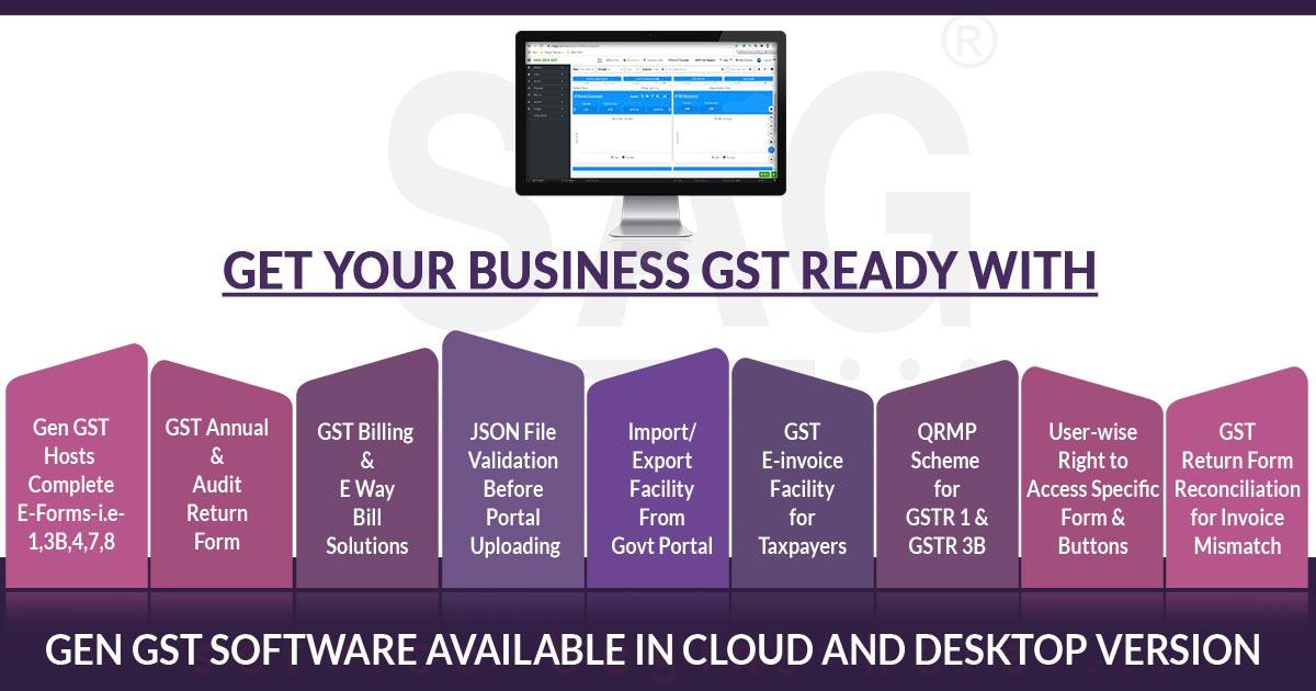 Free Download Gen Gst Software Fy 2021 22 For E Filing Billing