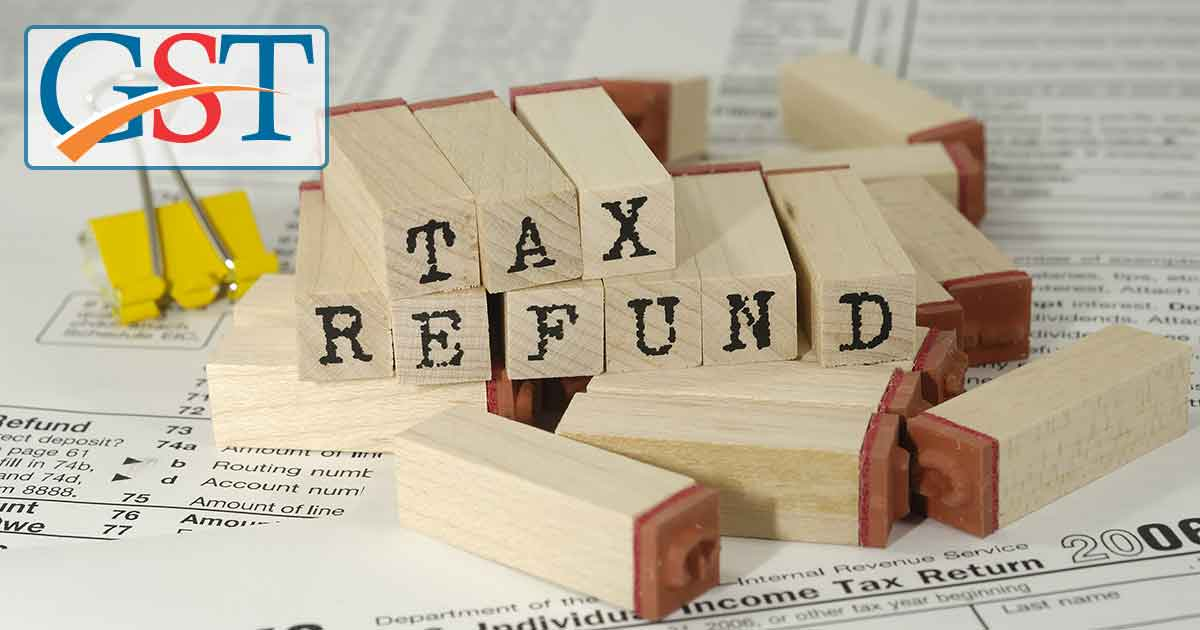 GST Official Refund Procedure