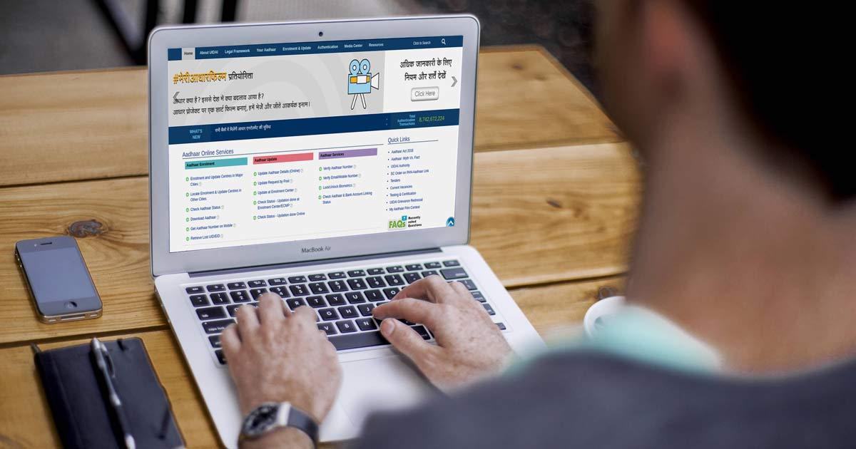 Online Aadhaar Card Services