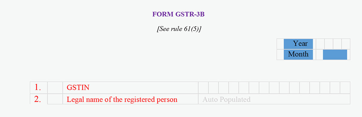 simple guide to gstr 3b with step by step online return filing procedure