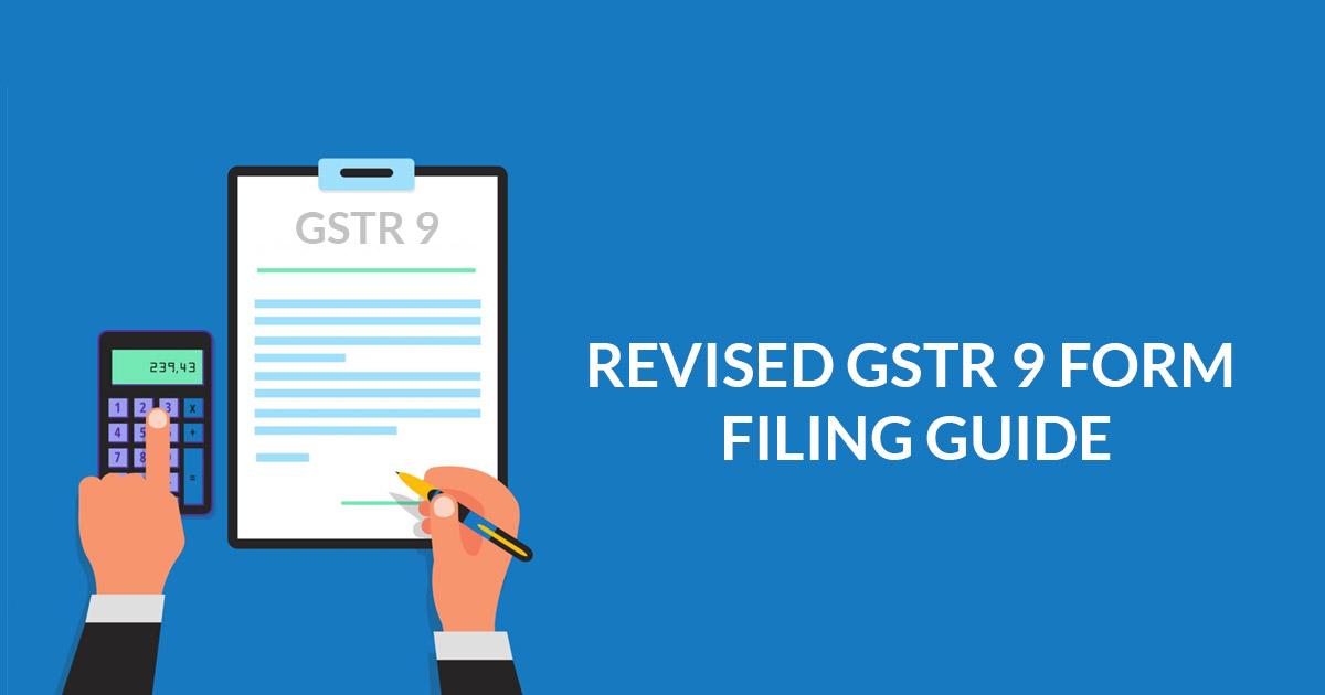 GST Annual Return Form GSTR 9 Online Filing Procedure | SAG