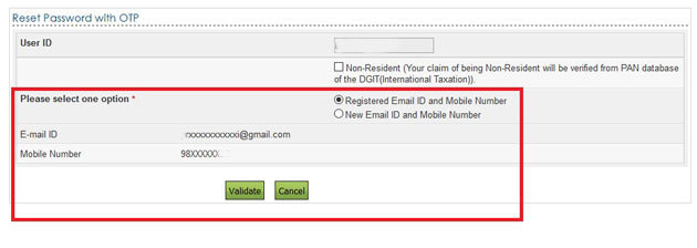 How To Get Otp Number