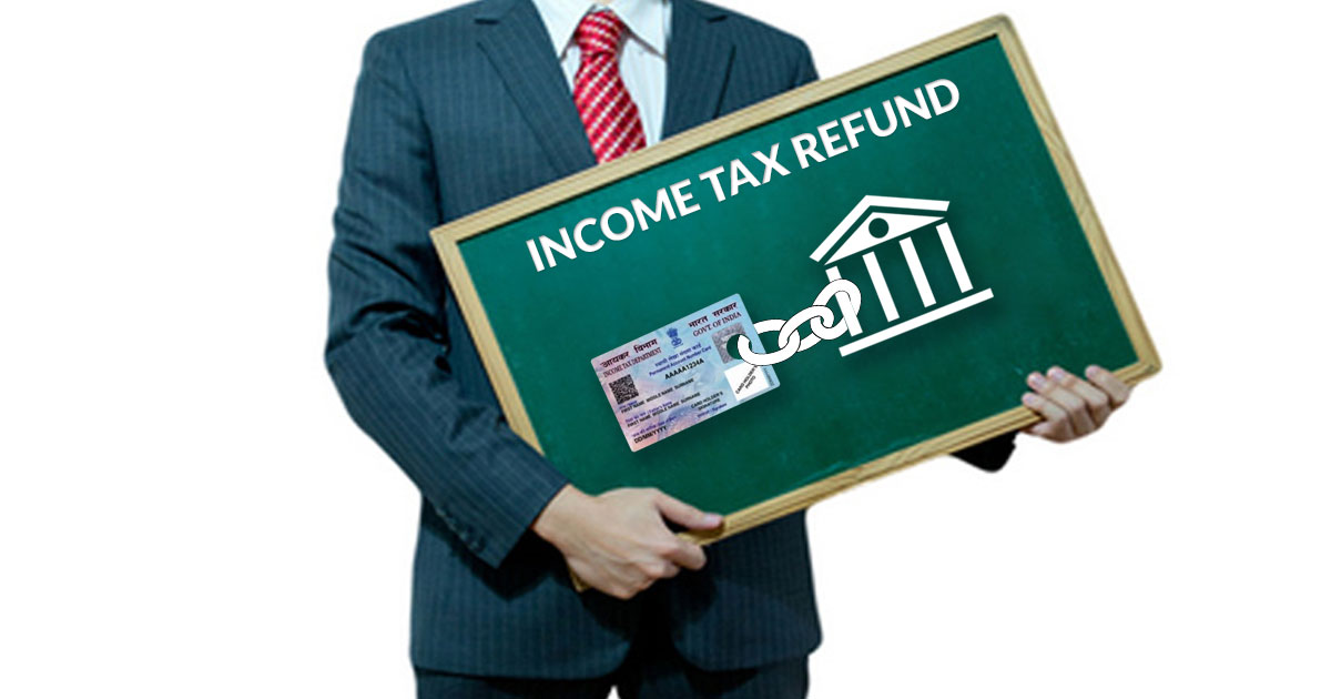Link PAN with Bank for Income Tax Refund