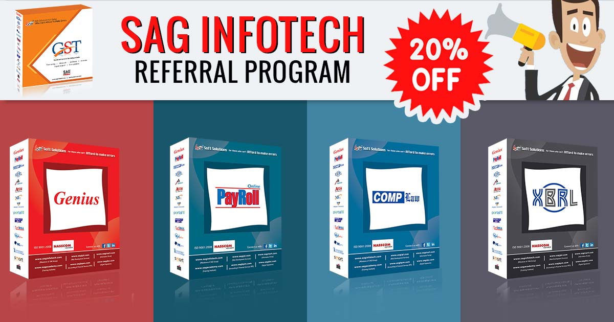 You Sell We Pay: SAG Infotech Referral Program Offers 20% Margin