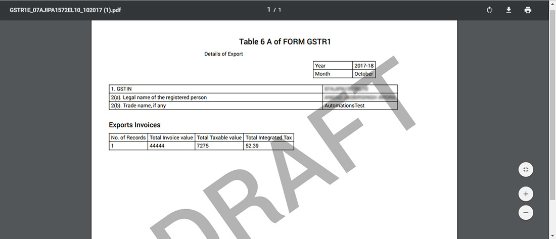 All About Table 6a Export Of Gstr 1 With Faqs Sag Infotech