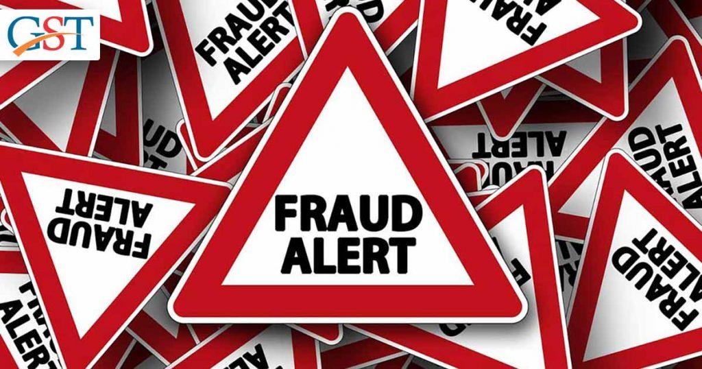 CAG GST Fraud Alert
