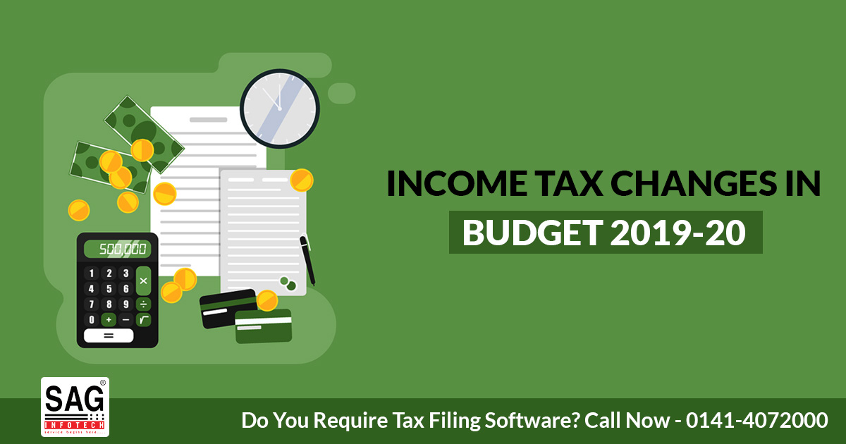 Income Tax Changes in Budget 2019-20