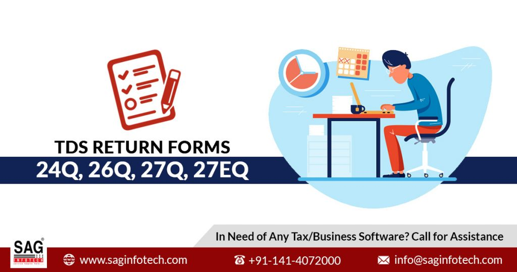 Solved Important Questions Related To Tds Return Filing Sag