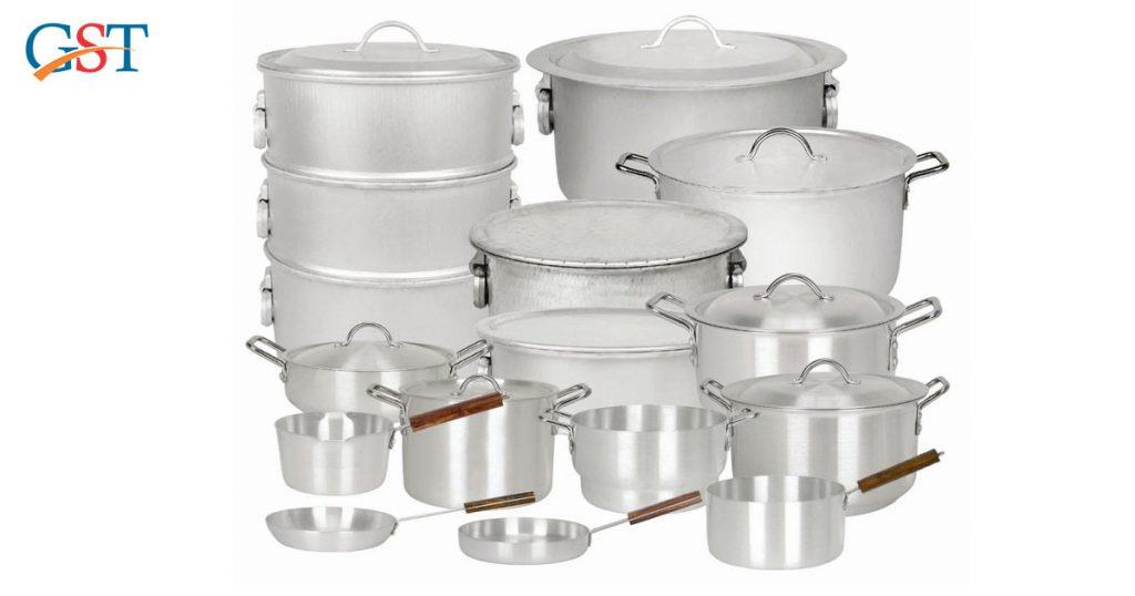 GST Rates on Aluminium Vessels