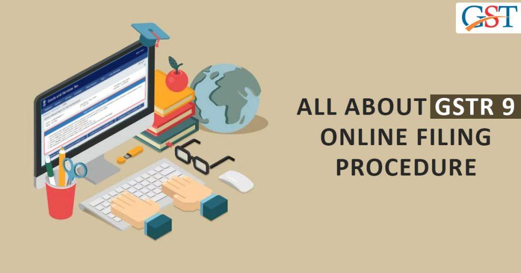 GSTR 9 Online Filine on GST Portal