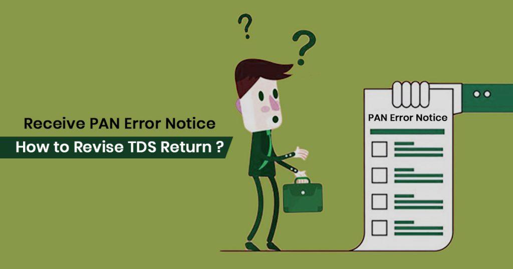 Steps to Revise TDS Return