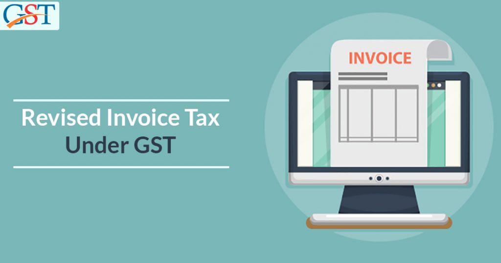 Revise Tax Invoice Under GST