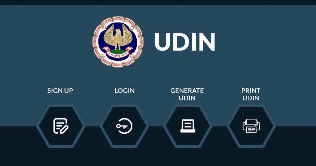 UDIN Registration and Generation Process