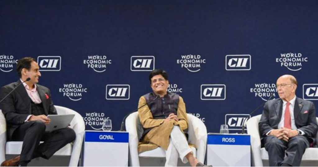 WEF India Economic Summit 2019
