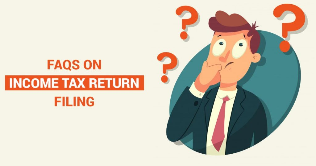 Solved Questions Income Tax Return Filing
