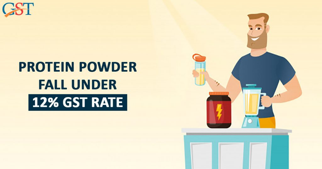 Protein Powder & Minerals Under 12% GST